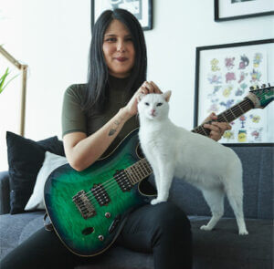 Camila Milla teaches guitar, ukulele, and piano lessons in Toronto