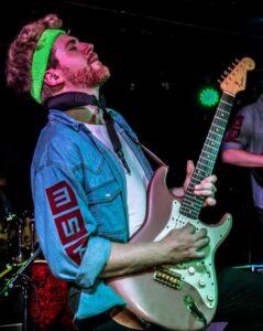 Denny Copf is a guitar teacher at Elite Music Academy