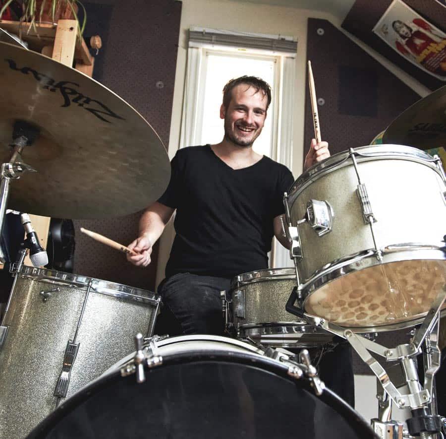 Eric Woolston Drum Lessons Teacher Toronto Danforth