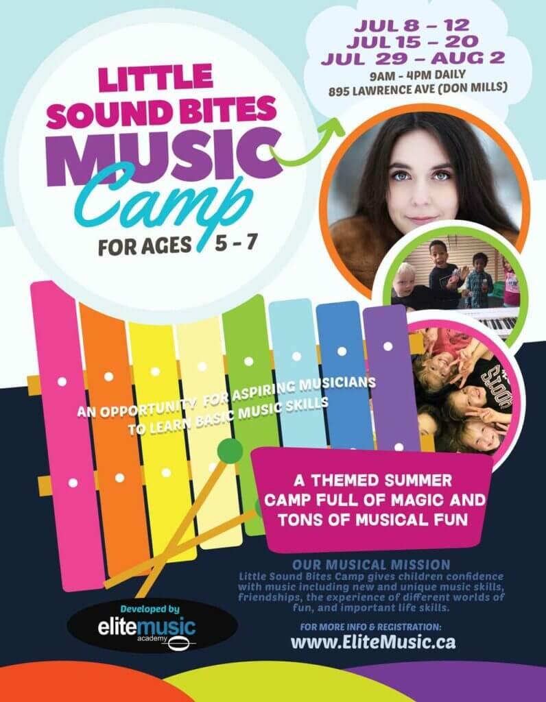 Summer Music Camp Toronto Kids