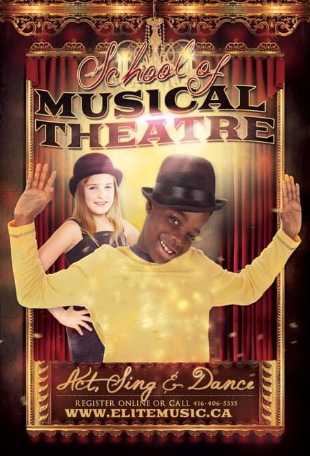 Musical Theatre School Singing Lessons Toronto